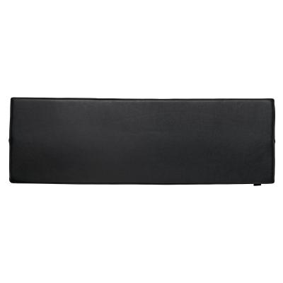 Conekt sittdyna, svart läder