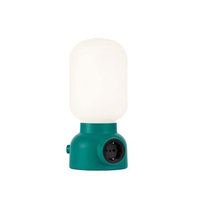 Plug lamp bordslampa, grön
