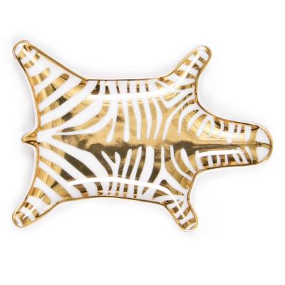 Carnaby Zebra fat, guld