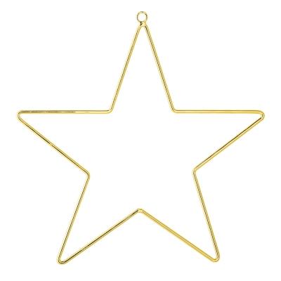 Ornament stjärna, guld
