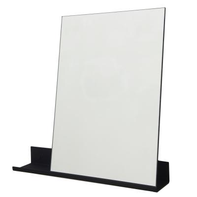 MS-1 spegel S, svart/spegel