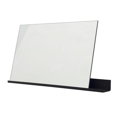 MS-1 spegel L, svart/spegel
