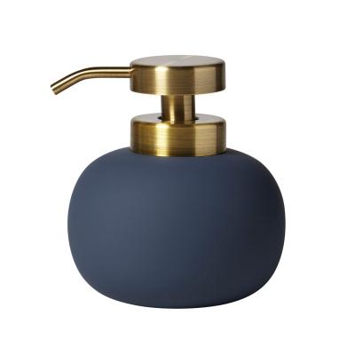 Lotus tvålpump, marinblå