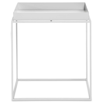 Tray table M square 44 cm white