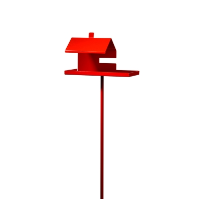 Pip Pip fågelhus, röd