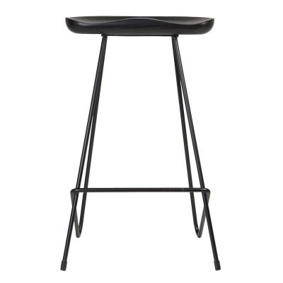Kensington barstol, svart/ask