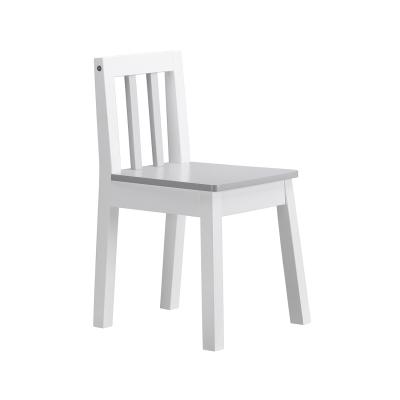 LINE stol, vit/grå