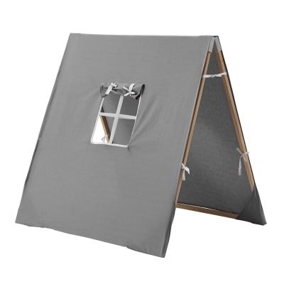 X tält, grå