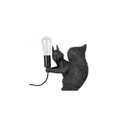 Piff bordslampa, svart