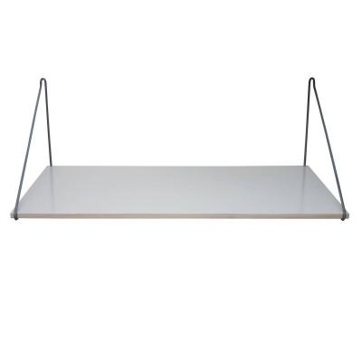 Wooden skrivbord, grå