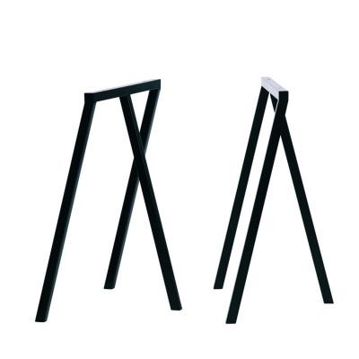 Loop Stand bordsben, svarta