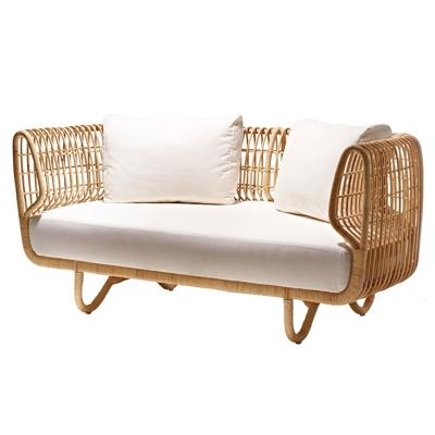 Nest dynset till soffa, vit