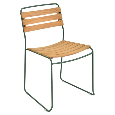 Surprising stol, cedar green/teak