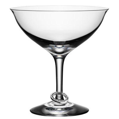 Amor Vincit Omnia Coup champagneglas 2-pack