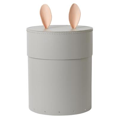 Rabbit förvaringsbox, grå
