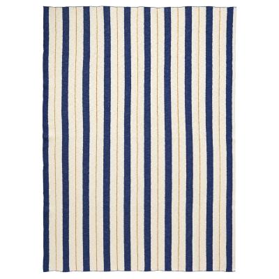 Pinstripe filt, blå