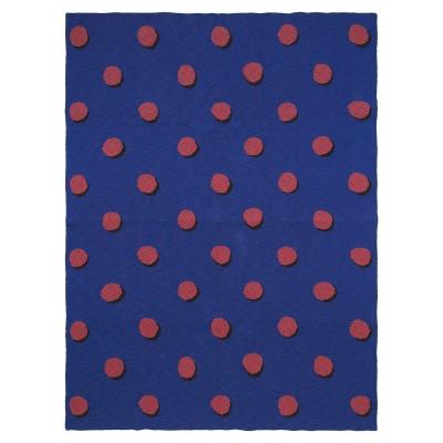 Double Dot filt, blå