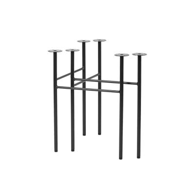 Mingle bordsben W68 2-pack, svart