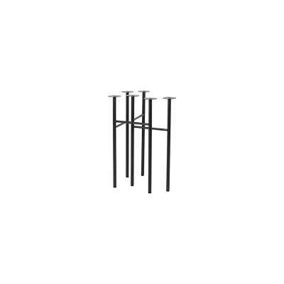 Mingle bordsben W48 2-pack, svart