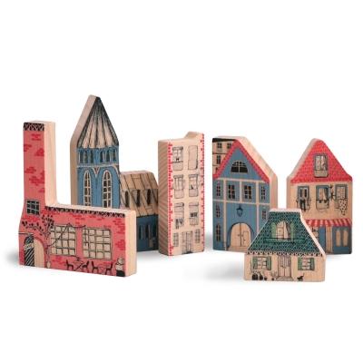 Imaginative City hus i trä