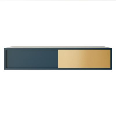 Vogue Wall skåp petite 120, mörkblå/mässing