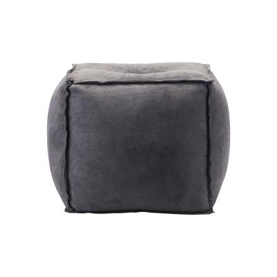 Sittpuff mocka, grå/blå