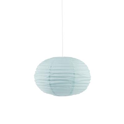 Oval lampskärm, grön