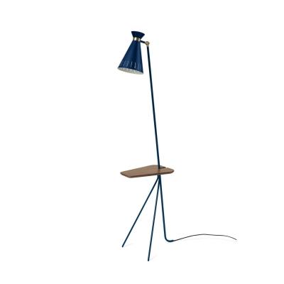 Cone golvlampa, azure blue