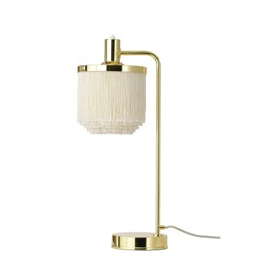 Fringe bordslampa, cream white
