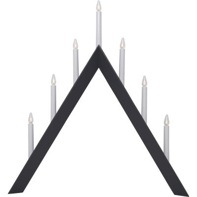 Arrow ljusstake, mörkgrå