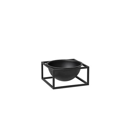 Kubus Centerpiece skål S, svart