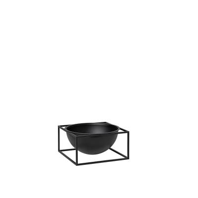 Kubus Centerpiece skål L, svart