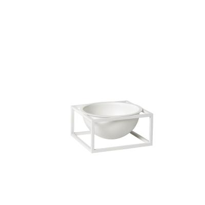 Kubus Centerpiece skål S, vit