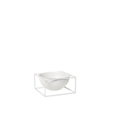 Kubus Centerpiece skål L, vit