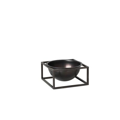 Kubus Centerpiece skål S, bränd koppar
