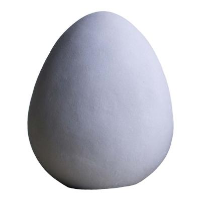 Heavy egg prydnad, betong