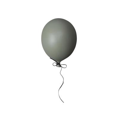 Balloon dekoration, mörkgrön