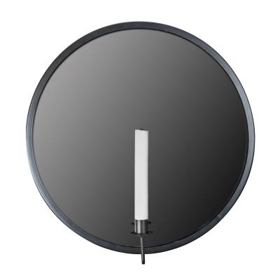 Candle Noir spegel, svart
