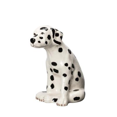 Dalmatian Pongo dekoration, vit/svart