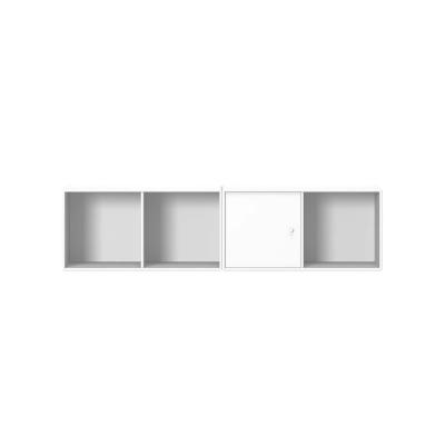 Line vägghylla, new white