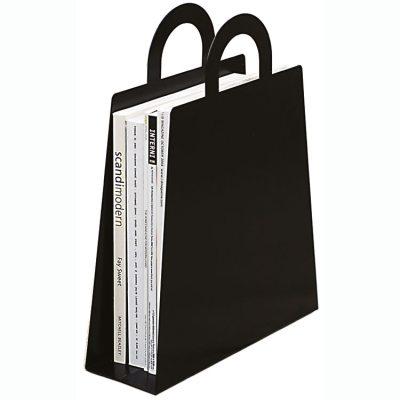 Magbag tidningsställ svart