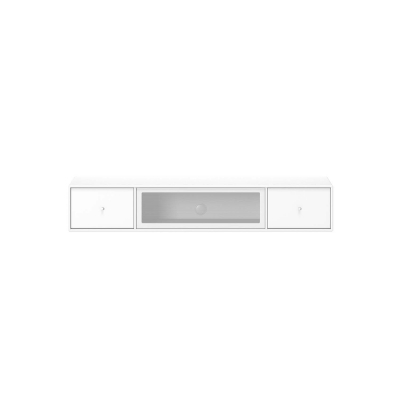 Octave II Hi-Fi mediabänk, new white
