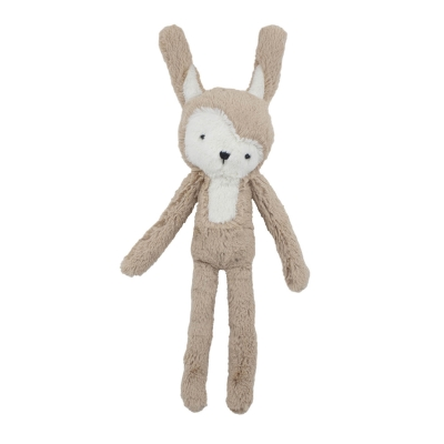 Siggy the rabbit gosedjur, birchbark beige