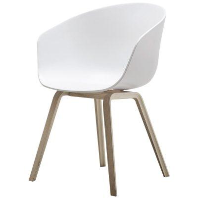 Bild av About a Chair 22, vit/ekben