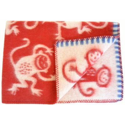 Ullfilt Monkey Röd