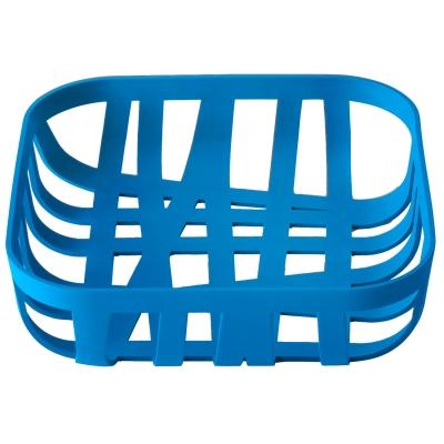 Wicker brödkorg, blå