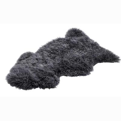 Maiori fårskinn, lång, grå