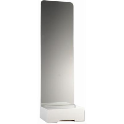 Prisma spegel 35 cm vit