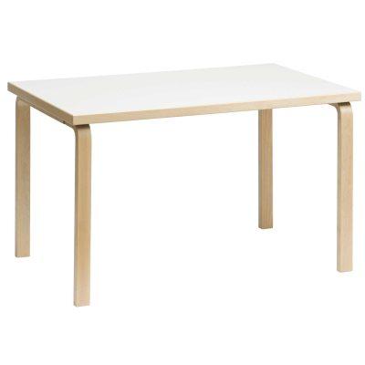 Bild av 81B matbord, vit laminat