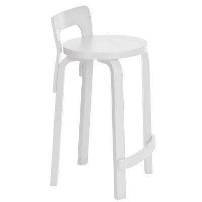 Bild av K 65 barstol, vitlack